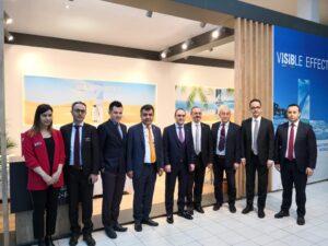 İSİB, ISH fuarında Türk firmalarına destek oldu