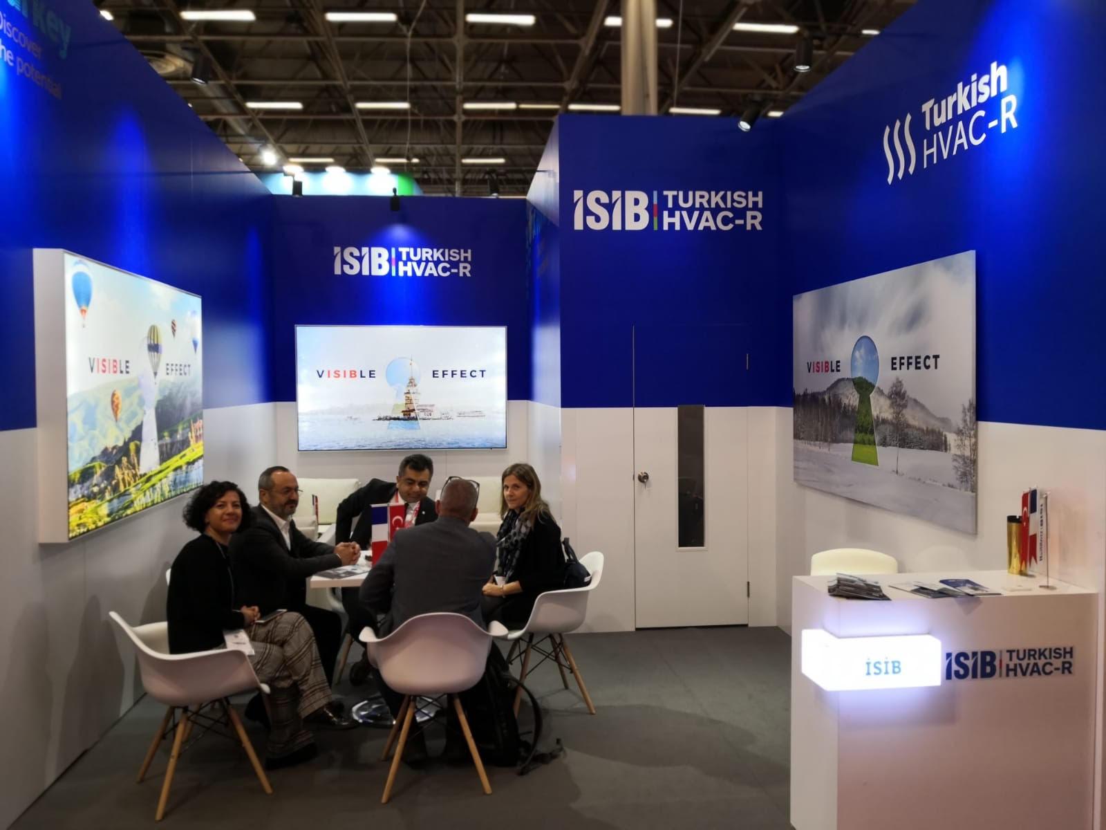 İSİB, Interclima + Elec 2019 Fuarı'na Milli Katılım Organizasyonu Düzenledi