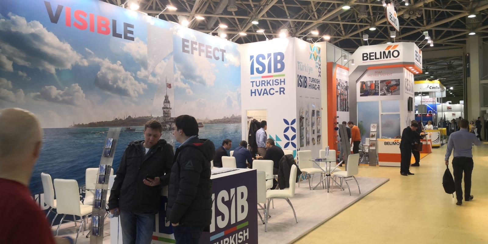 İSİB, Rusya'daki Climate World Fuarı'nda Türk İklimlendirme Sektörünü Temsil Etti