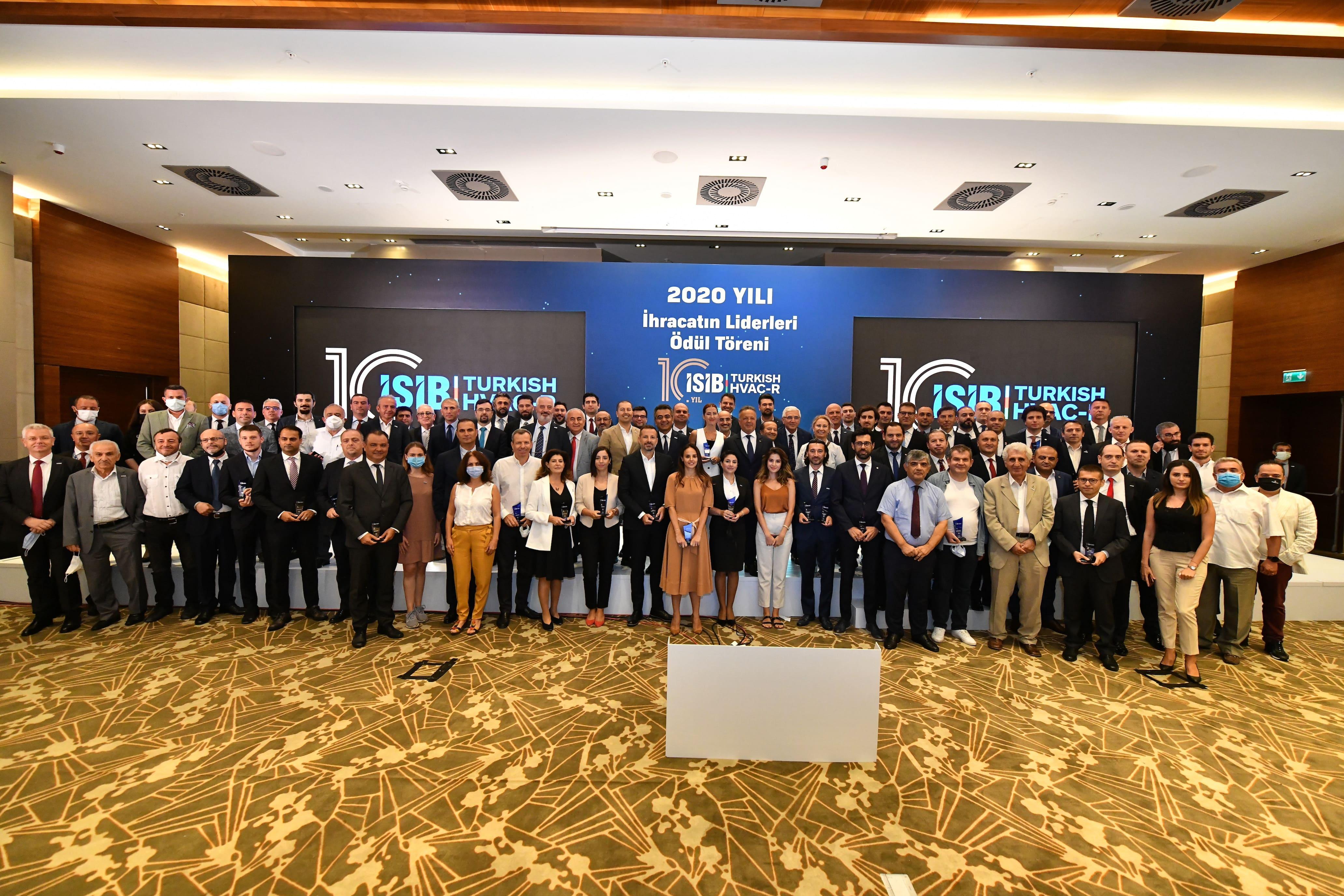 Turkish HVAC&R Exporters' Association Rewards the Best-Performing Exporters of 2020