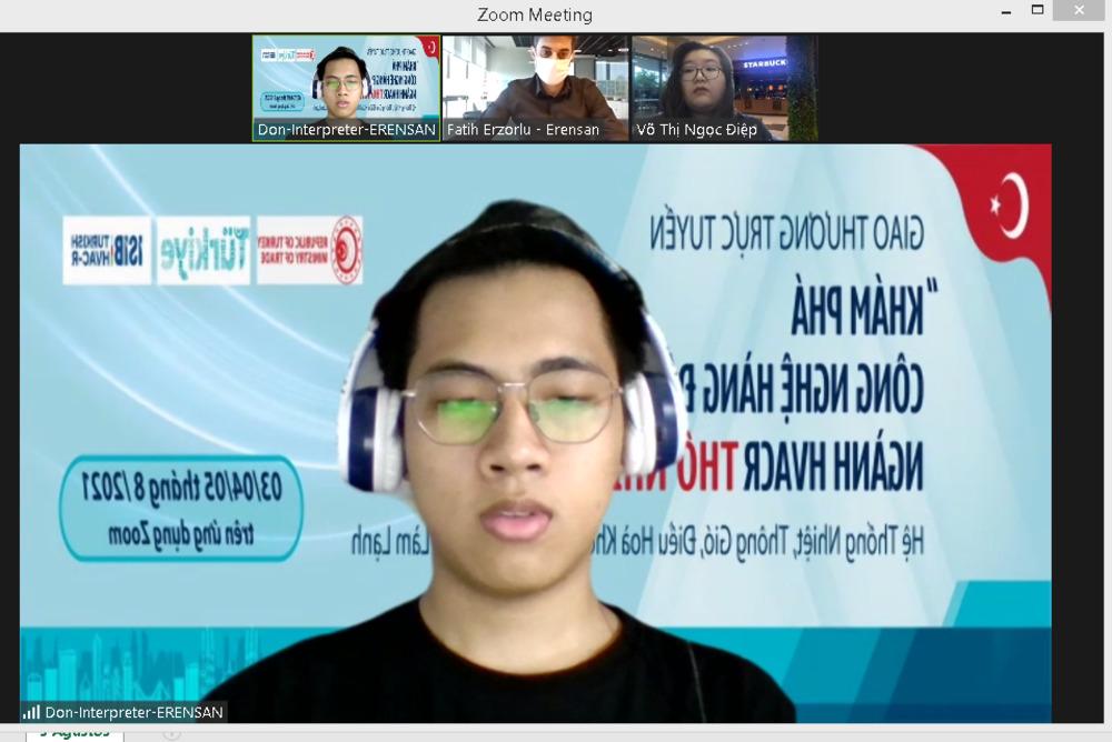 Türk İklimlendirme Sektörü'nden Uzakdoğu'nun Yükselen Ülkesi Vietnam'a Dijital Heyet Organizasyonu