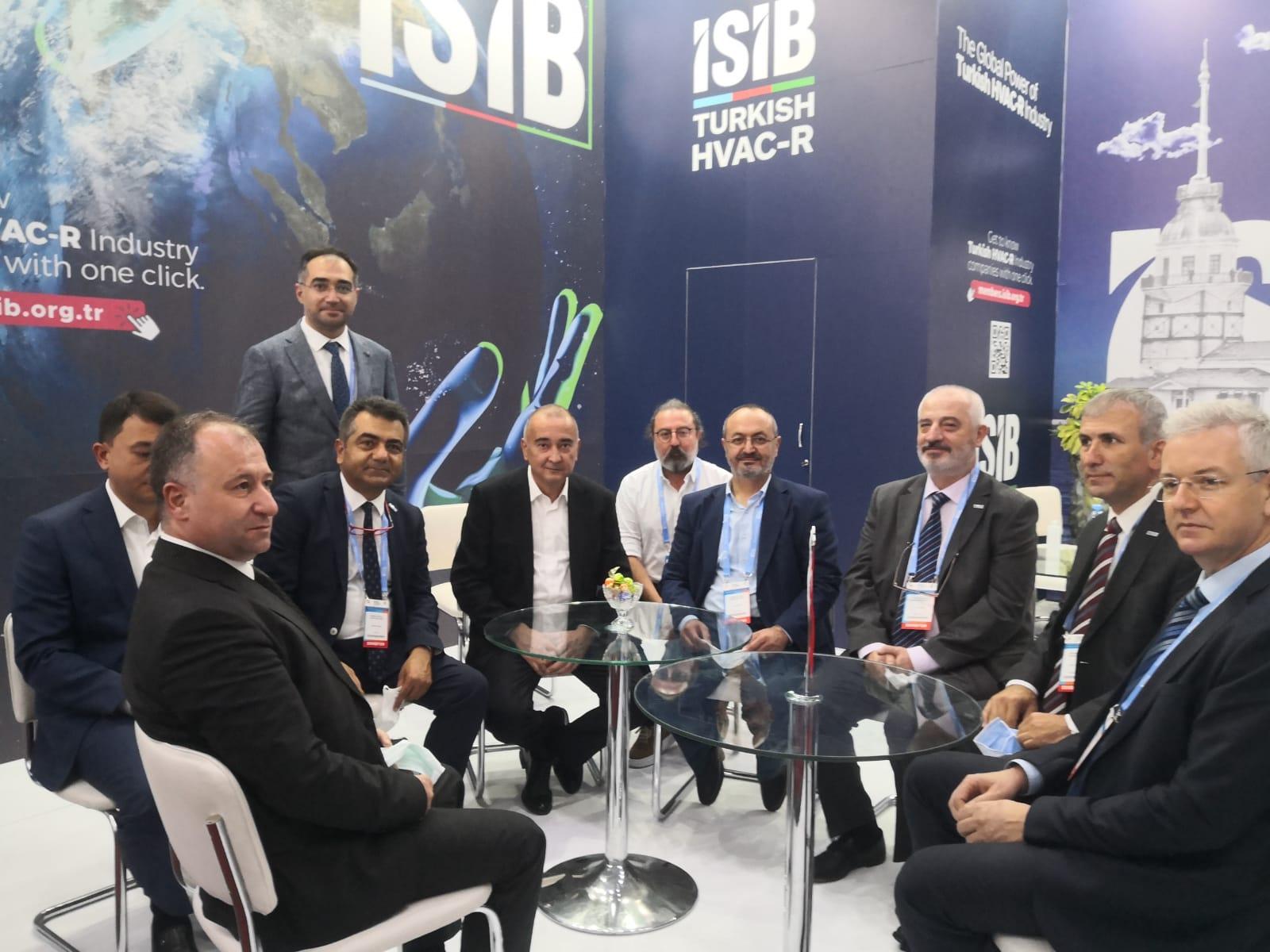 İSİB, Özbekistanda'ki Aquatherm Tashkent Fuarı'nda  Türk İklimlendirme Sektörünü Temsil Etti
